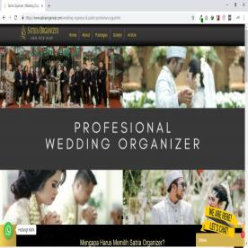 Satria Wedding Organizer | Website Event Organizer | Jasa Buat Website Profile Bisnis Event Organizer