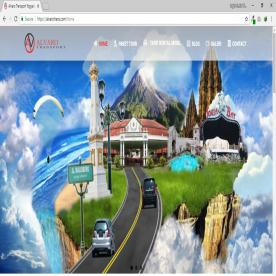 Website Alvaro Tour & Travel Jogja